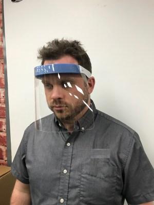 Flip Face Shield