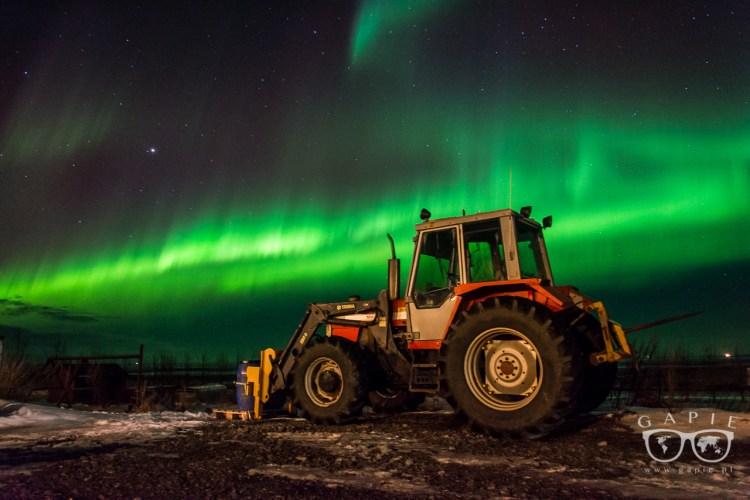 Jak fotografować zorzę polarną… inaczej?