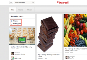 Easily access your Pinterest recipes.