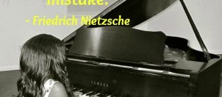 Image with quote by Friedrich Netzsche - Without music, life would be a mistake.