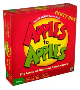Image of Apples to Apples Party Box - Game of Hilarious Comparisons