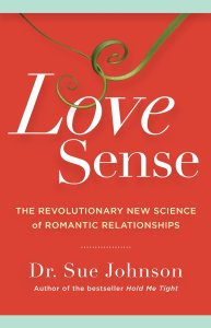 Book cover image of Love Sense by Dr. Sue Johnson