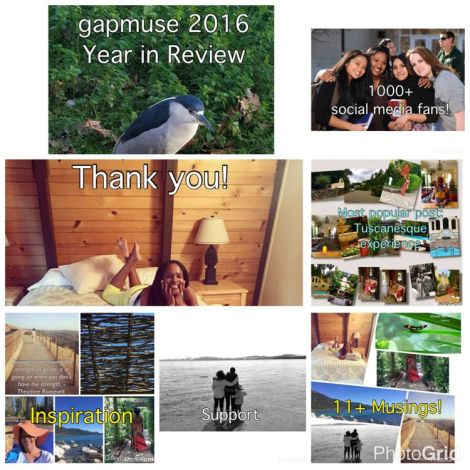 Collage of gapmuse blog post photos