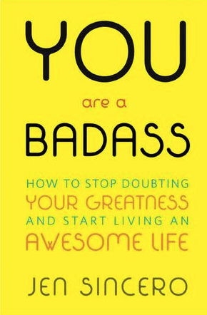 "Cover of book ""You're a badass"" by Jen Sincero"