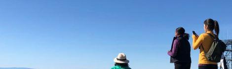 3 Women enjoying the view at Mt. Diablo
