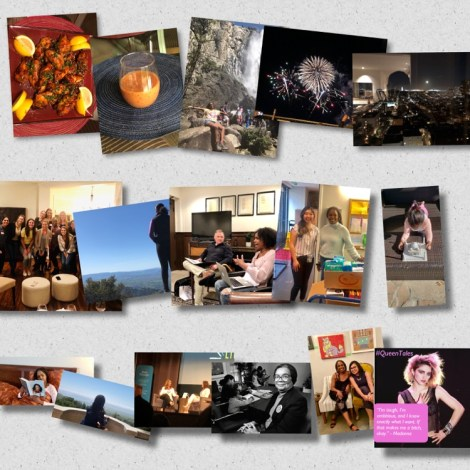 Collage of beautiful for the best of the year for our blog and social.