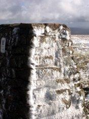 Ingleborough - Frozen Trig Point