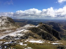 Pike of Stickle - Loft Crag and Harrison Stickle
