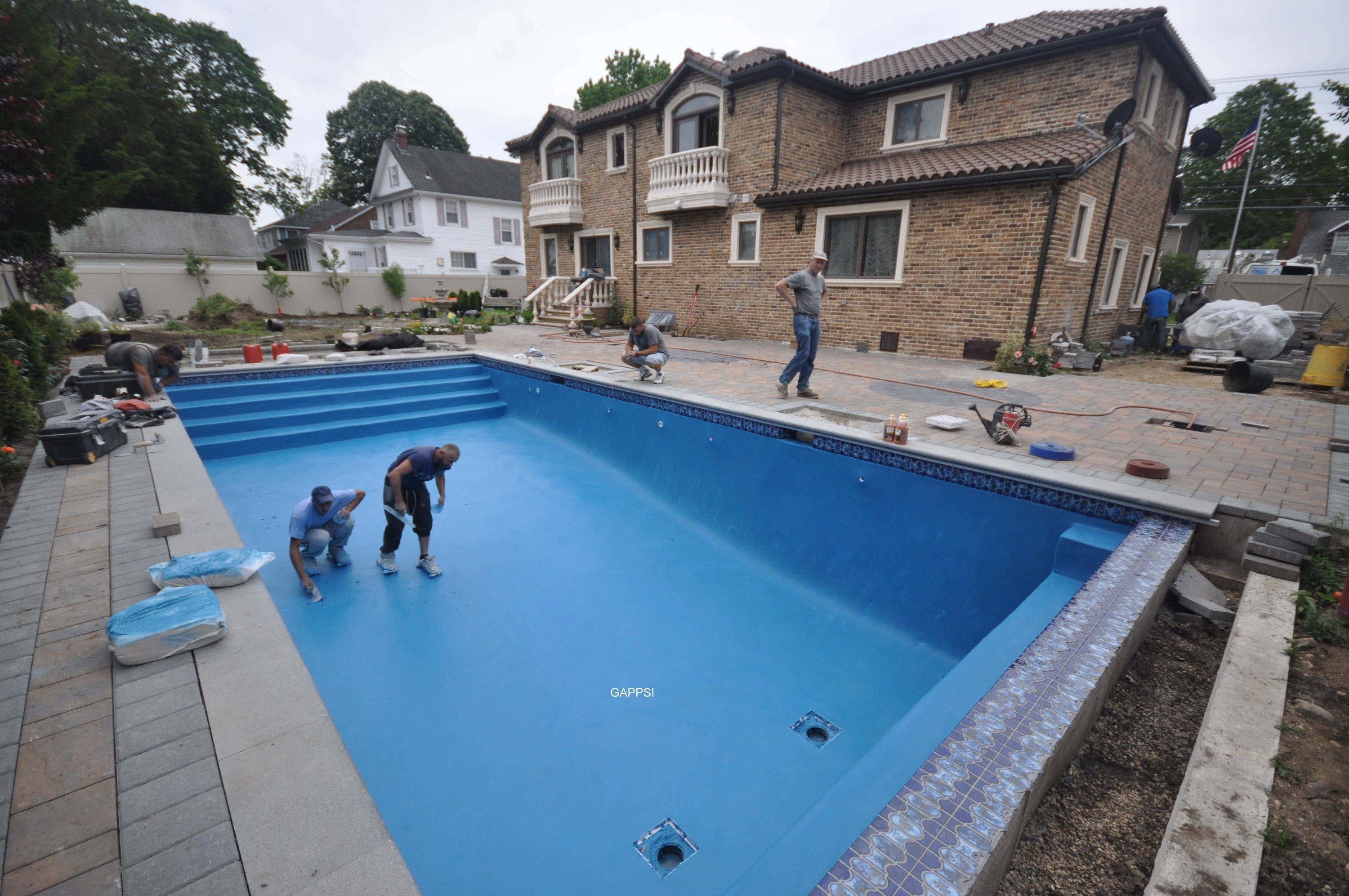 Long Island Gunite Pool  Design  Construction  Inground