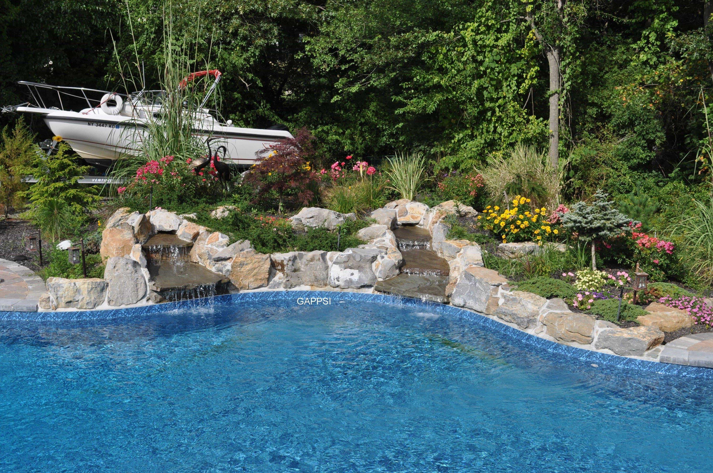 outdoor water features pool