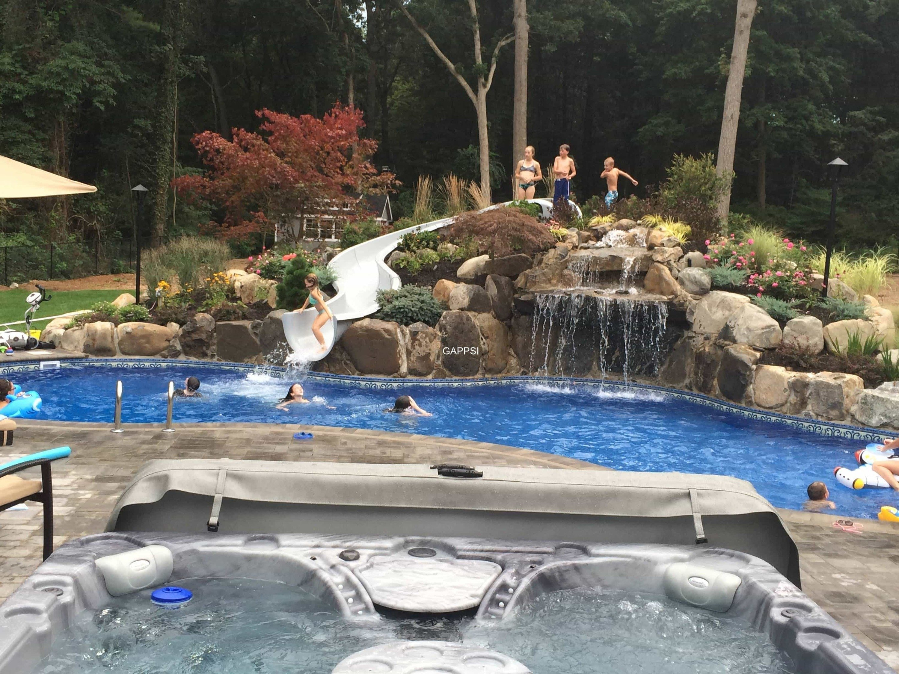 Water Features And Pool Landscaping