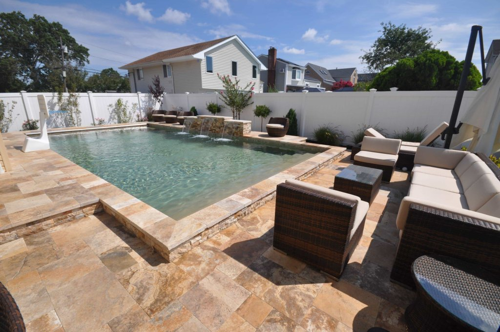 Gunite pool builders Massapequa long island NY