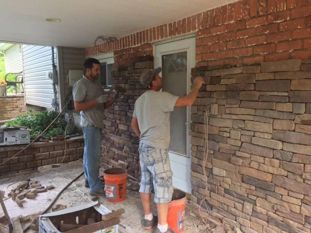 cultured stone wall installers