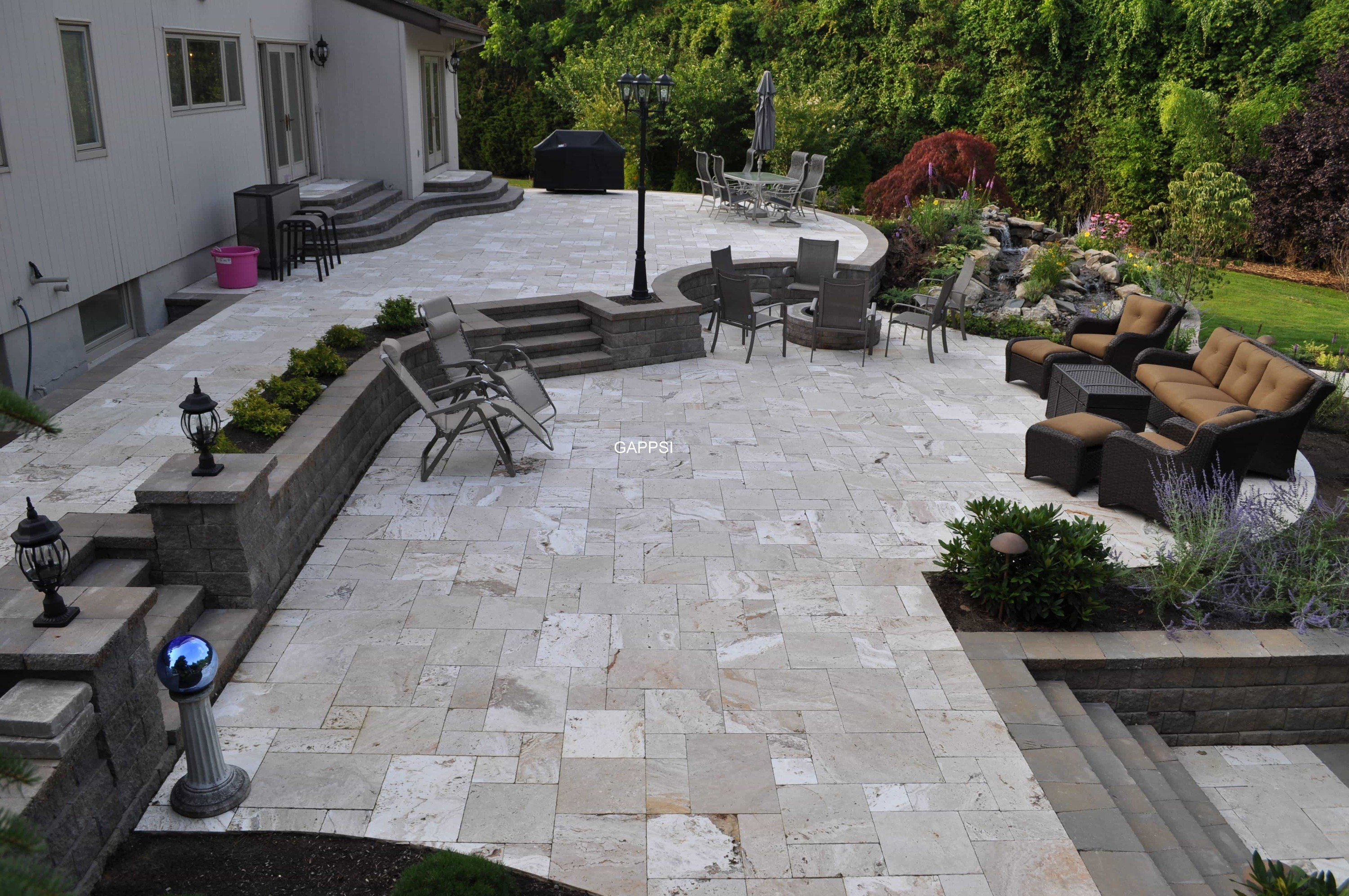 Naturals Stones Pavers & Wall Veneers - Distributor ... on Travertine Patio Ideas id=93369