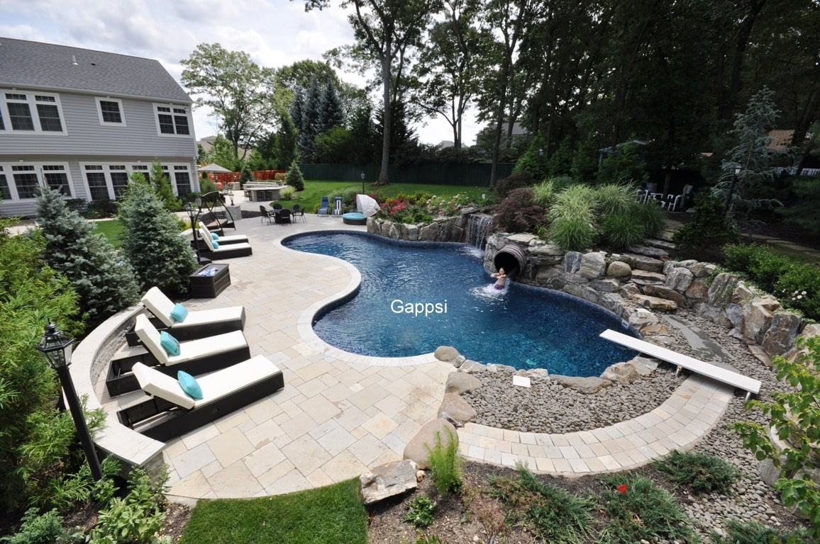 Backyard Design and construction by Gappsi