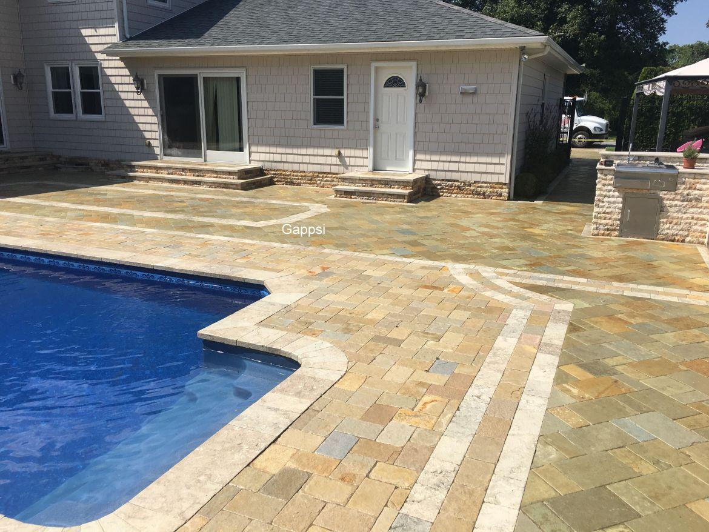 westbury Long Island NY sealed pool patio Gappsi