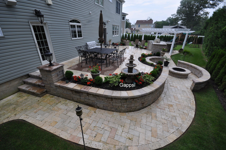 backyard designer babylon ny masonry