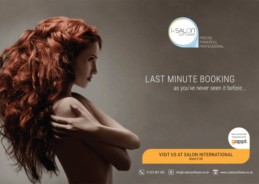i-Salon ad for their Salon Internationl Stand