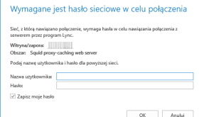 Lync 2013 Proxy Authentication Prompt