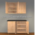 Easy 4 ft Garage Cabinet Plans