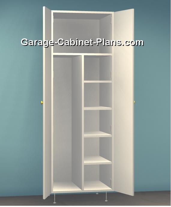 8 ft Garage Storage Towers  15 Deep  Garage Cabinet Plans
