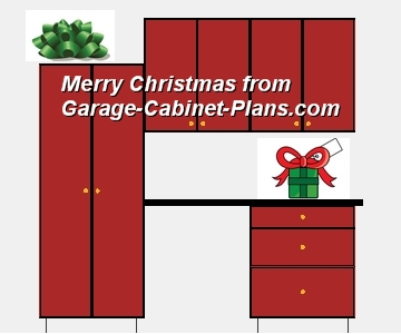 just in time for the holidays u2013 or any time u2013 give this set of festive garage cabinet plans to your family handyman