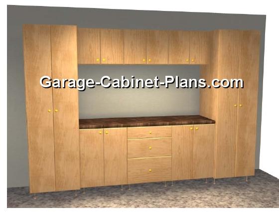 10 Ft Of Garage Storage Cabinets