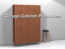 4 ft Garage Cabinet Towers