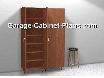 Cabinet doors are oen