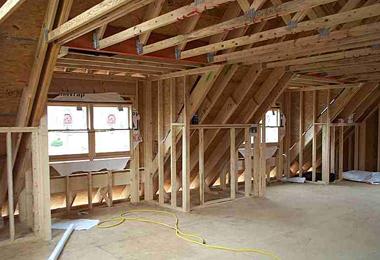 Custom Garage Building Construction Example Detached