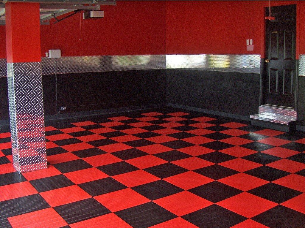 Garage flooring options Amazing Deluxe Home Design