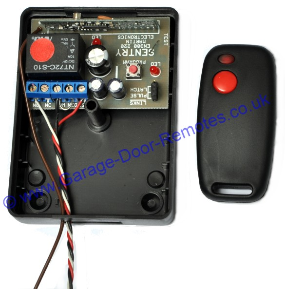 accessory relay wiring diagram duo therm rv thermostat installation instructions - sentry 433mhz garage door remote control system