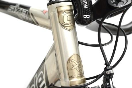 完璧なエアロフォームを可能にした「Cannondale 2007 IRONMAN SIX13 SLICE Si 1」