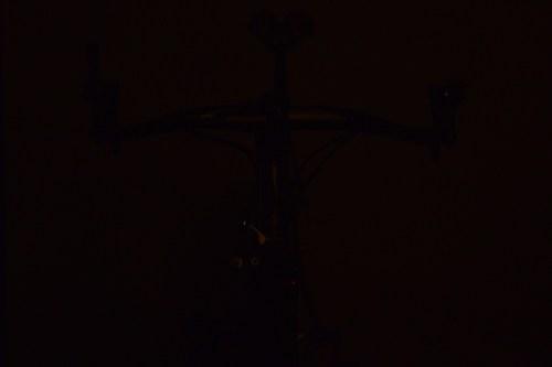 ライトを「CATEYE(キャットアイ)LED HL-EL135N」から「MOON(ムーン)COMET(コメット)Front(フロント)」明るさテスト