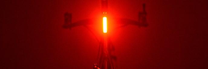 リアライトを「GIZA(ギザ)ILUMENOX(イルメノックス)SS-L322R」から「MOON(ムーン)COMET(コメット)Rear(リア)」明るさテスト