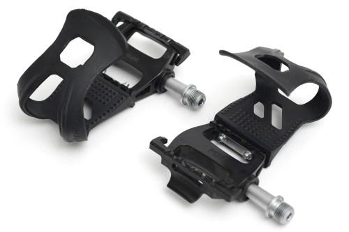 自転車の軽量ハイパックカーボンペダル「VP ONE(ヴイピーワン) :VP-HANK pedal(ペダル)&VP-700 HALF TOE CLIP(ハーフトゥクリップ)」