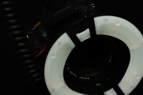 リングライト 「MF18」ニッシン・マクロ・リングフラッシュスピードライトのテスト