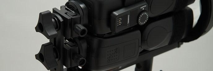 「V850×2+自作トレペグローブ」ストロボ直射&18cmリフ&オパF値計測