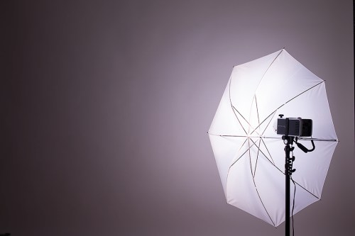 ライティングのヒント・アクセサリー別の光源・モノブロックストロボ(斜め45度)