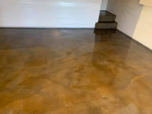 Staining Outdoor Concrete Patio
