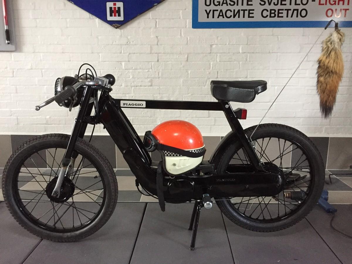 Garage Build Vespa Ciao Custom Build