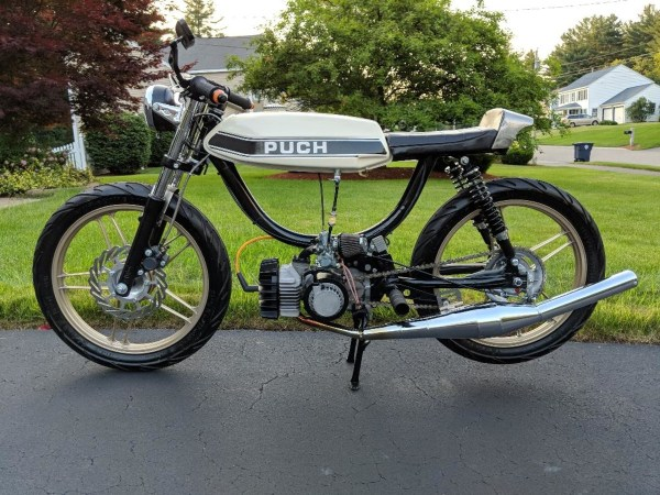 Rebuilt Puch E50 Moped Motor Bottom End With Transmission