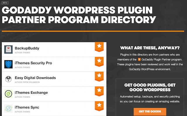 GoDaddy Launches Partner Program For WordPress Plugin Developers
