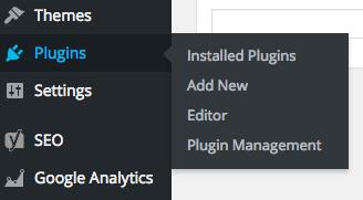 Multisite Plugin Navigation