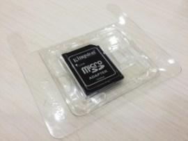 拾ったマイクロSDカード