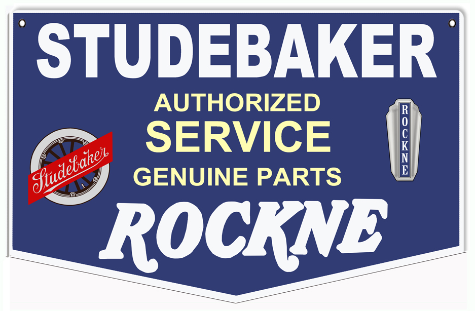 Studebaker authorized service genuine parts rockne sign studebaker authorized service genuine parts rockne sign sciox Choice Image