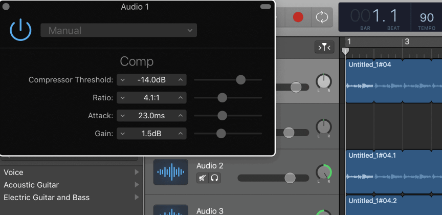 How to Use Auto-Tune (Pitch Correction) in Garageband -