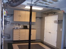 Garage Interior Wall Paneling