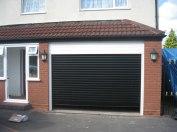 Black-roller-shutter-door-Birmingham