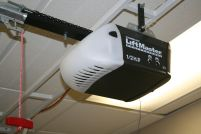 Bright-and-Black-Touches-for-Garage-Door-Opener-by-Lift-Master-Professional